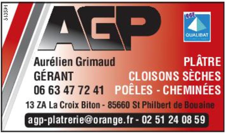 AGP - PLATRERIE