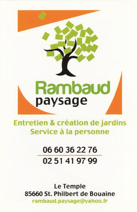 RAMBAUD PAYSAGE