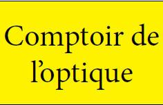 COMPTOIR DE L'OPTIQUE