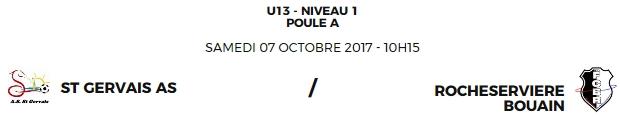 Match à St Gervais