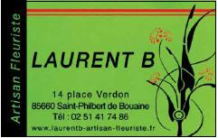 FLEURISTE BOUAINE - LAURENT B