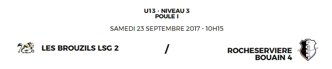 Match aux Brouzils