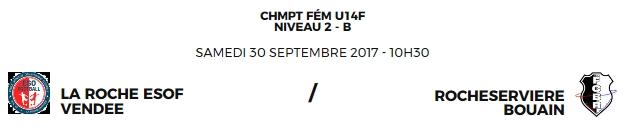 Match à La Roche Sur Yon stade Saint André d'Ornay