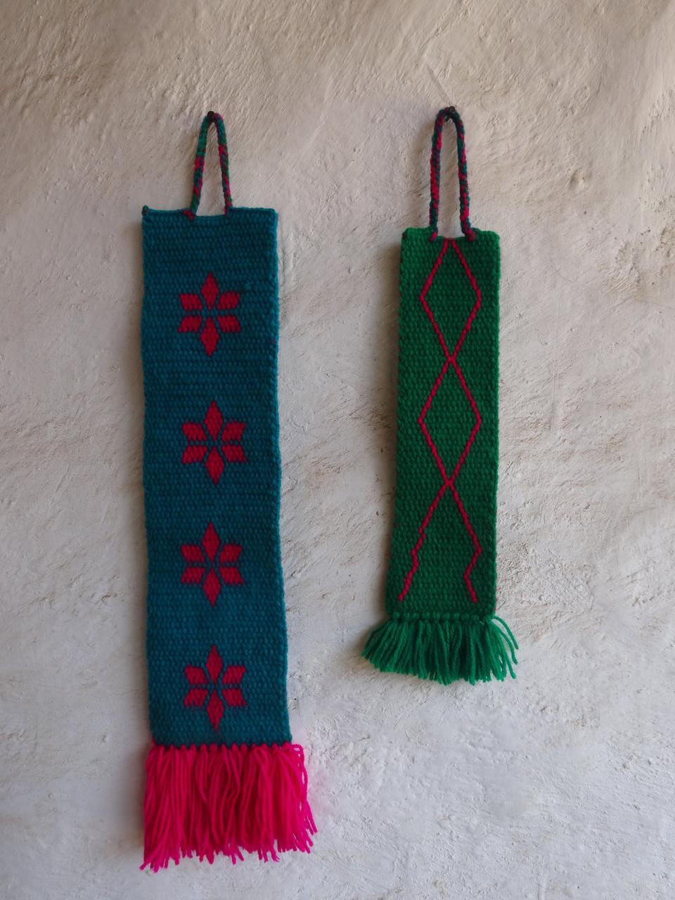 Porte-clés permettant aux femmes du villages de partager leur savoir-faire