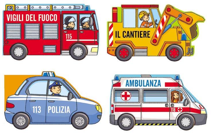 Edizioni Ape Junior- Collana Macchinine