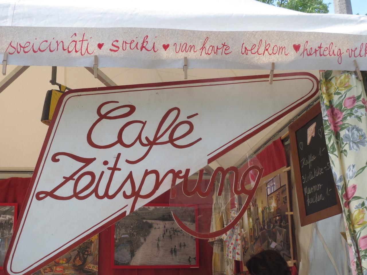 Café Zeitsprung bei den Herforder Hansetagen