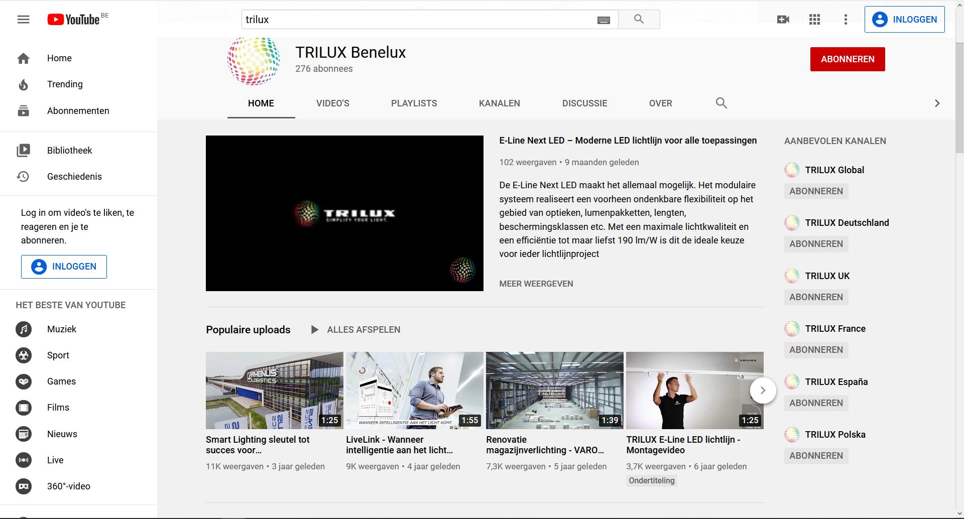 Op YouTube zetten bepaalde fabrikanten instructievideo's hoe hun producten te gebruiken