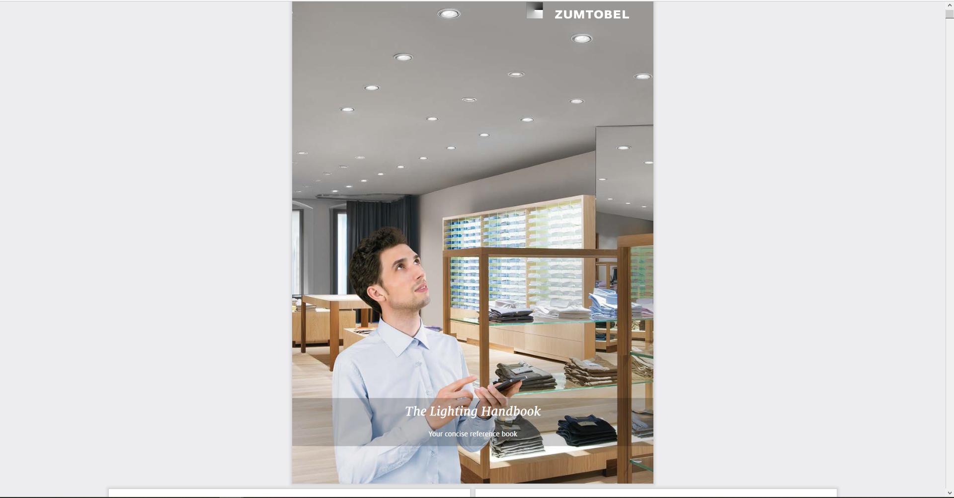 Digitale publicatie met heel wat informatie over licht & verlichting