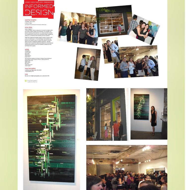 Long View Gallery, grupal exhibition, Washington DC