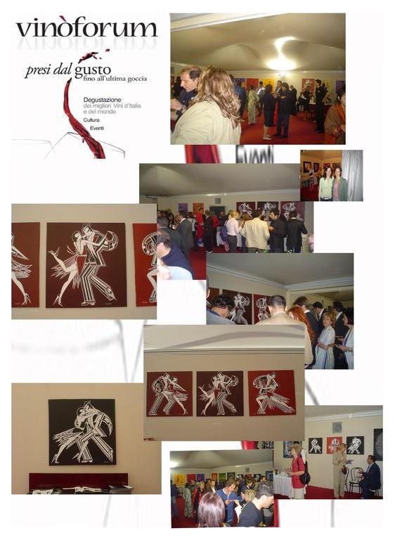Vinoforum, exhibition, ROME