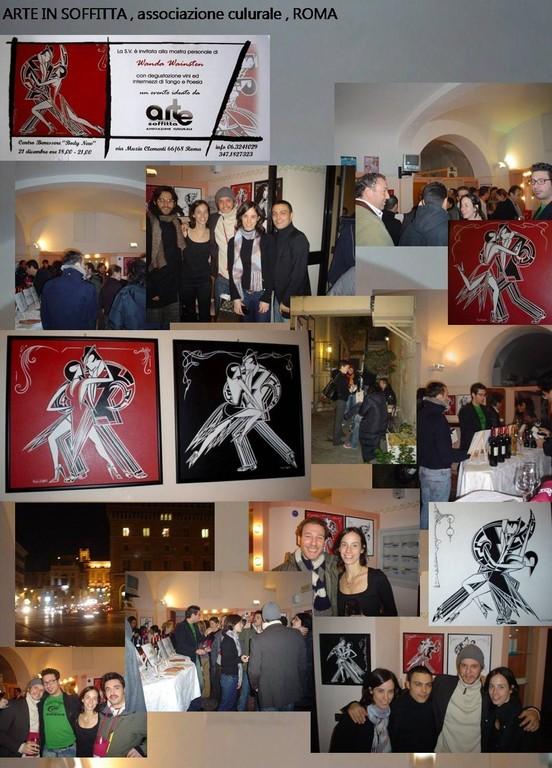 Radio 10 Arte, exhibition, ROME