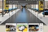 Automuseum und Eisenbahnmuseum in Mulhouse, Frankreich