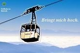 Bergbahn von Horben hinauf auf den Schauinsland