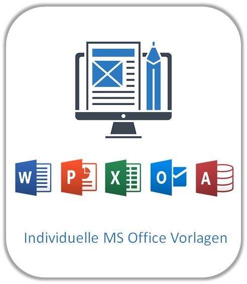 Individuelle MS Office Vorlagen