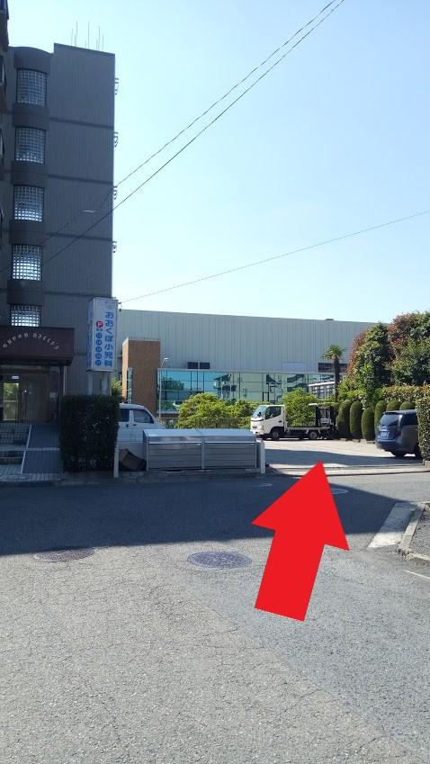 横浜市都筑区仲町台5丁目2-11 グリーンヒルズ・S駐車場前
