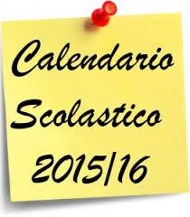 Calendario Scolastico Regione Sicilia.Calendario Scolastico Regione Sicilia Anno Scolastico 2015
