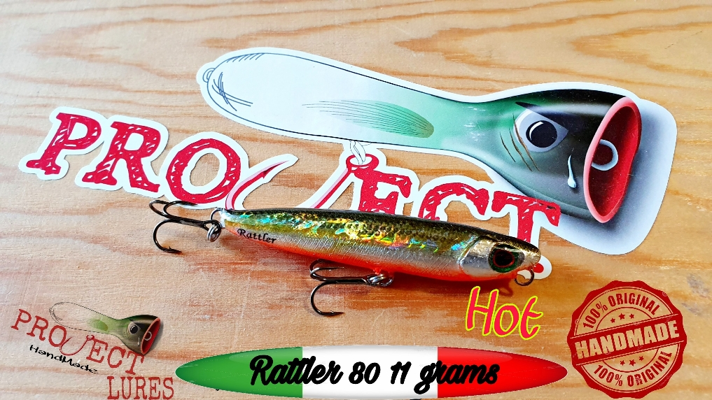 Project-Handmade Lures Think Different #projectlures #wtd #topwaterlures