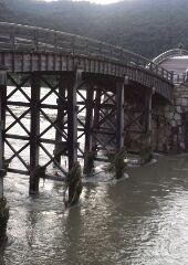 午後6時半の錦帯橋