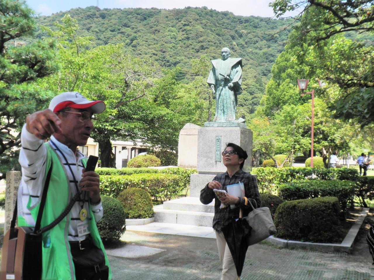 吉川広家像