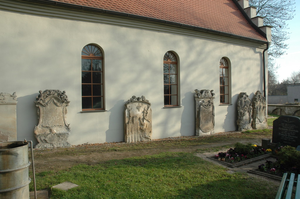 Südseite der Friedhofskapelle