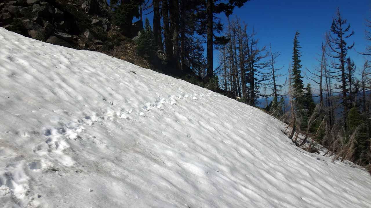puis encore la neige