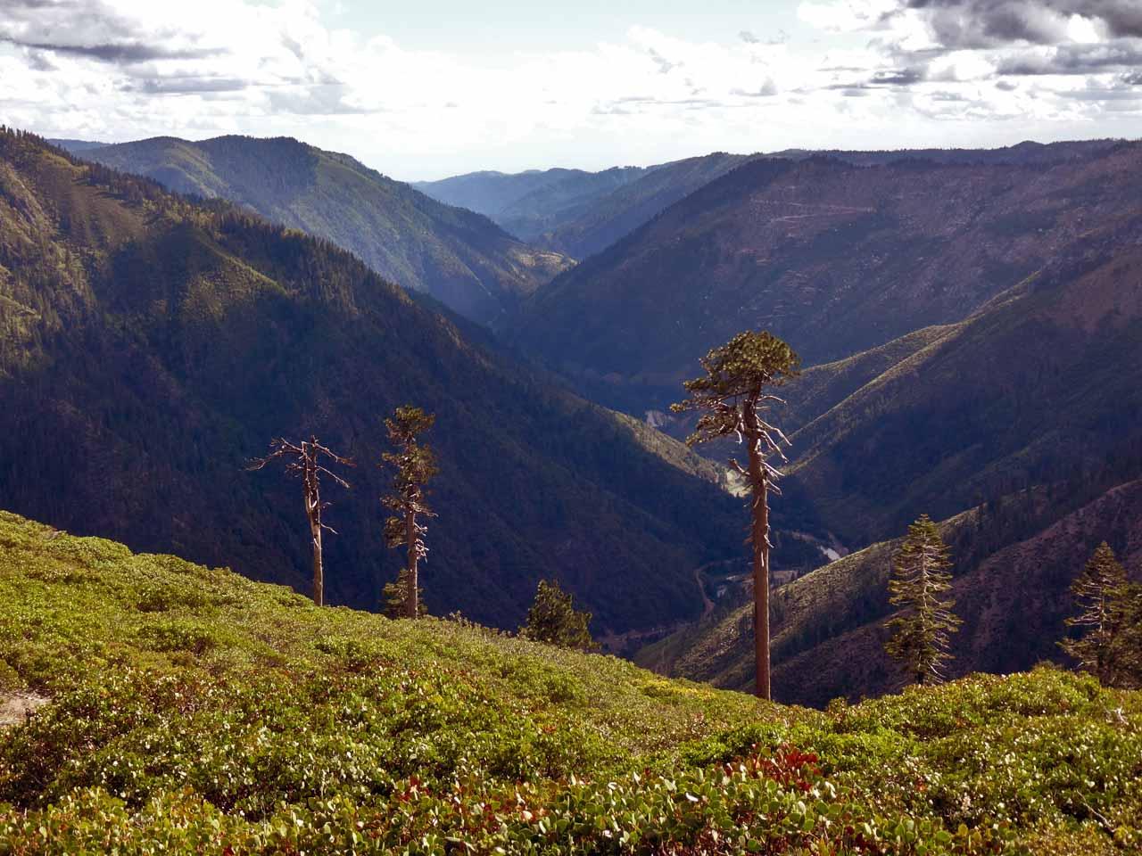 Au-dessus de Sierra City
