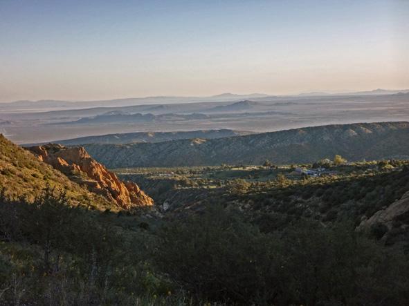au loin le Mojave