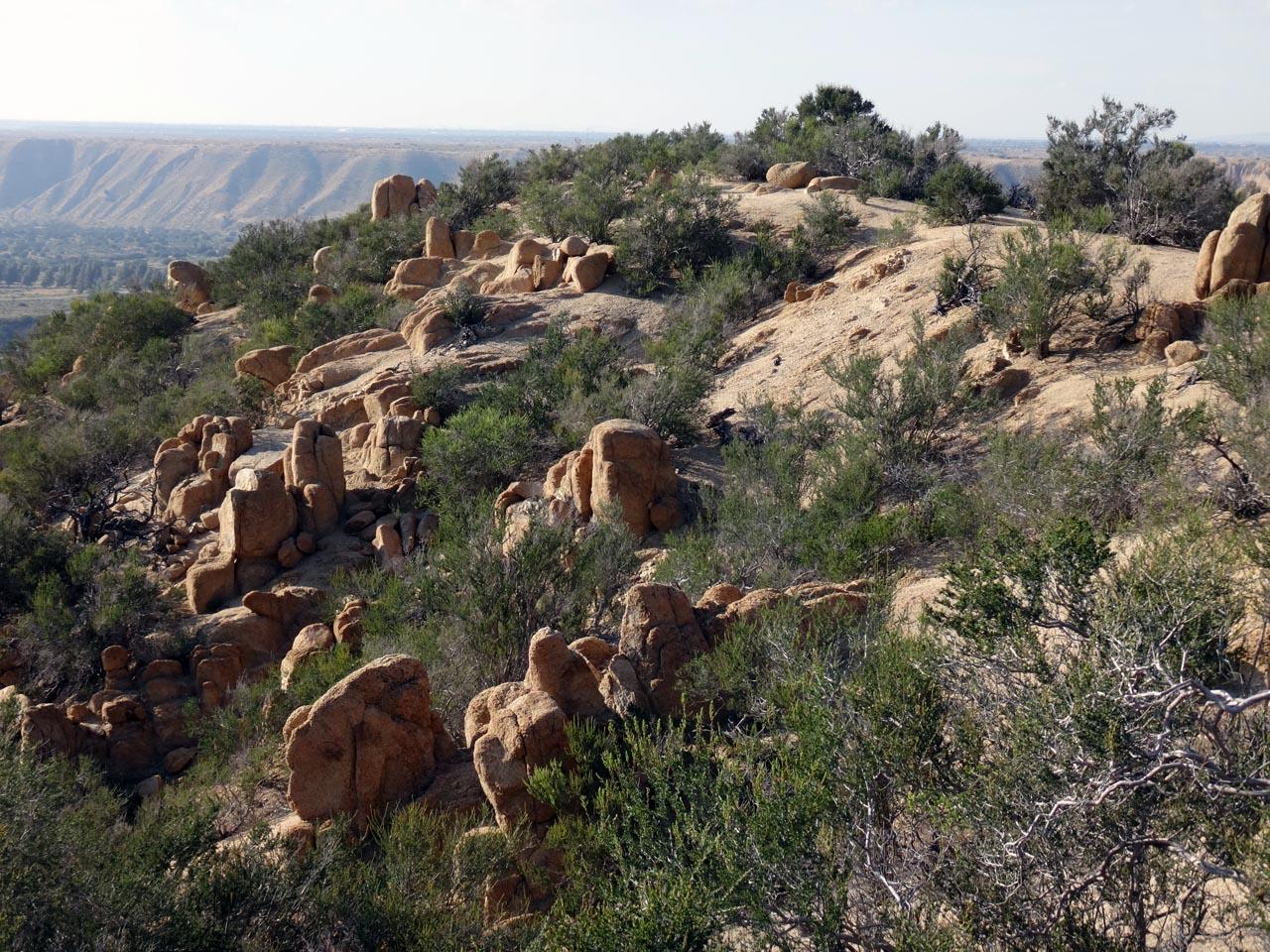 les grès des collines