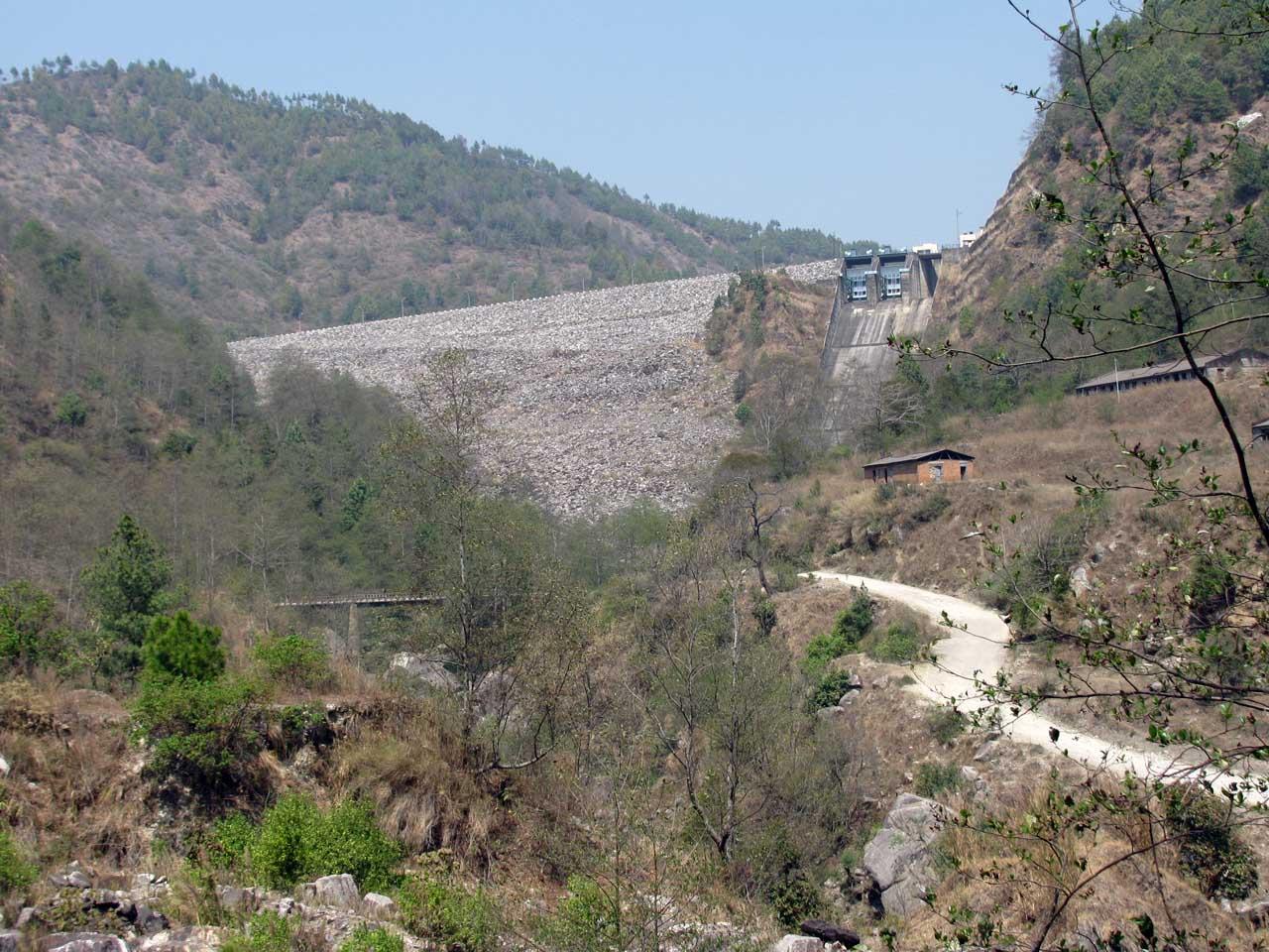 le barrage de Kulekhani