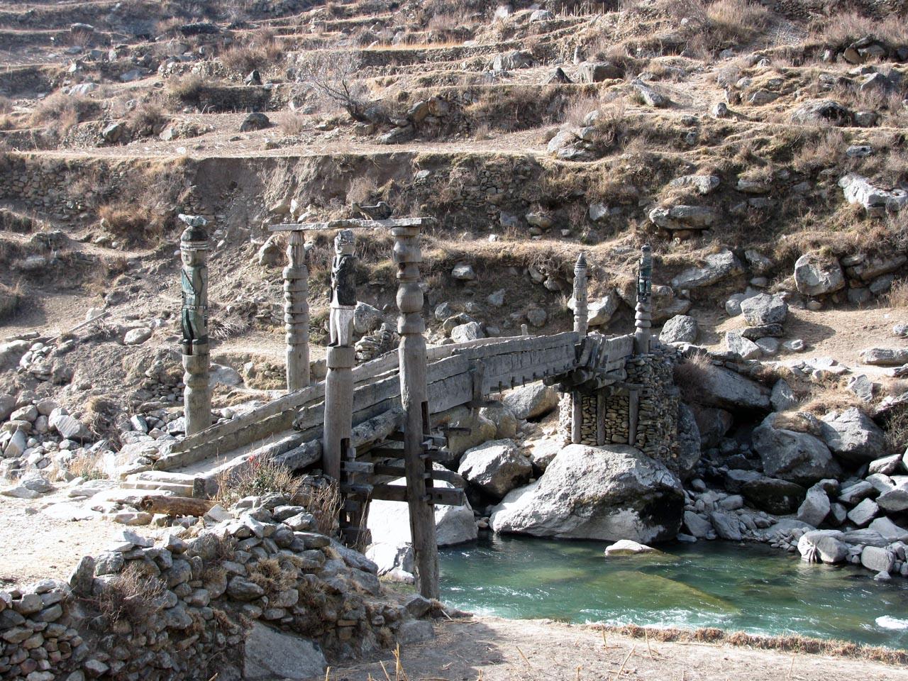 les ponts très particuliers de la région