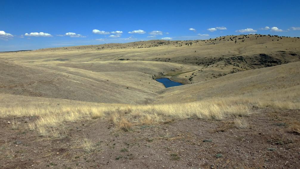 réservoir des hautes plaines après Snow Lake