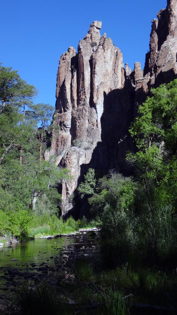 le canyon de la Gila