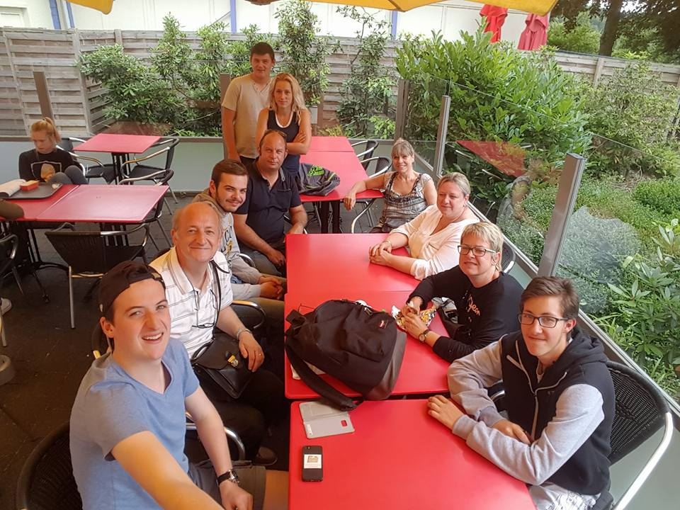 Sortie de fin d'année à Walibi (Belgique)