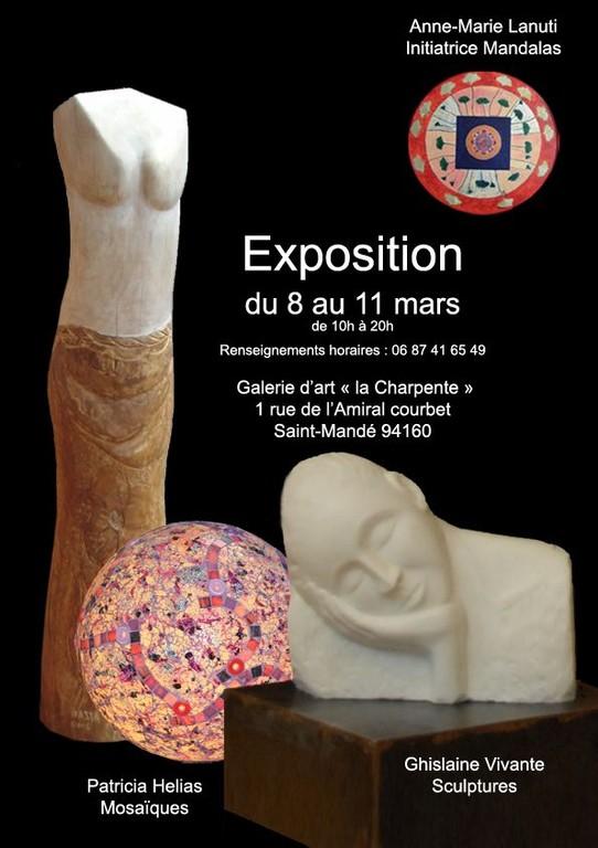 """Exposition Galerie d'Art """"La Charpente"""" 2012"""