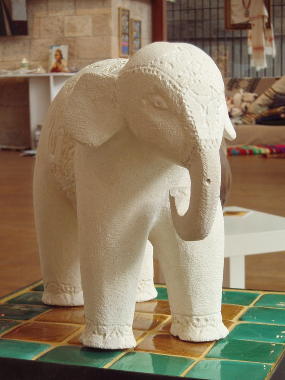 Eléphant - Calcaire