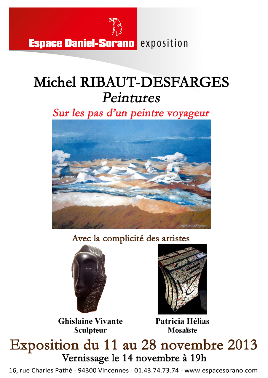 Exposition Espace Sorano Vincennes 2013