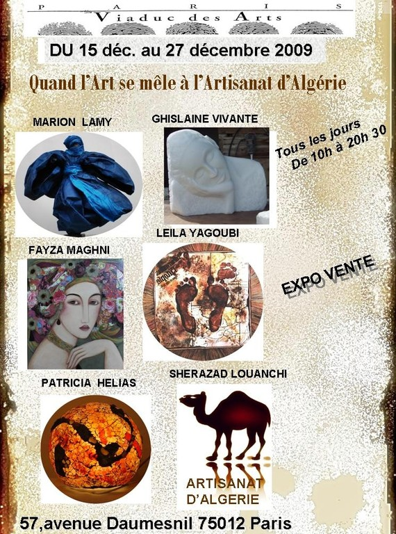Exposition Viaduc des Arts - Paris Bastille