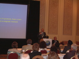 INTERNATIONALER ANTI AGING KONGRESS IN LAS VEGAS, VENETIAN HOTEL, 11. DEZEMBER, 2008, VORTRAG DR. KESSLER, COUNTERACTING AGING WITH BASIC PHYSICS