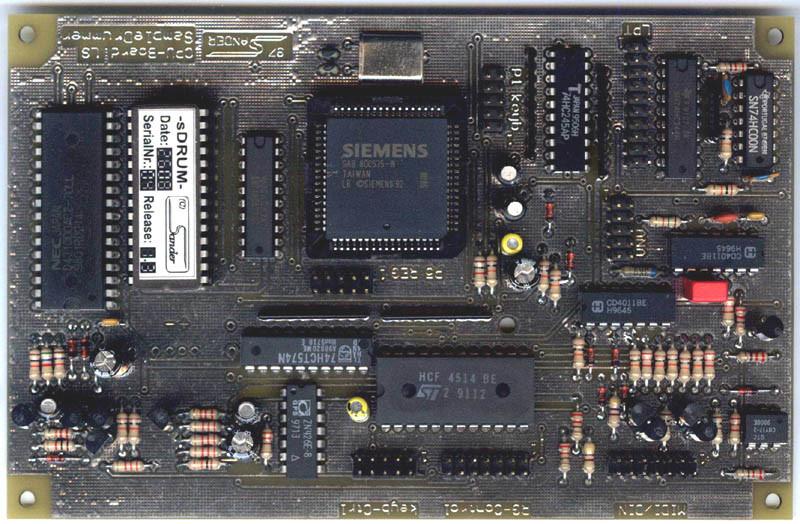 CPU Prozessor Platine sDRUM