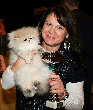 Blue Lulu vom Schlangenbach Best in Show 3 bis 6 Monate