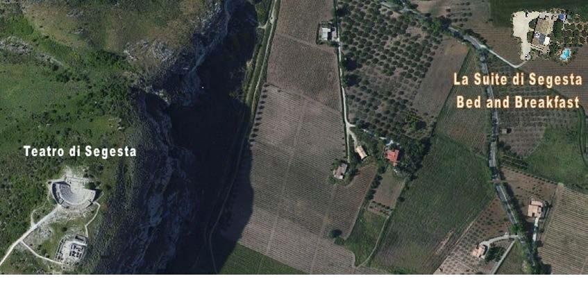 TEATRO DI SEGESTA near, close, next, neighboring, adjacent, convenient BED AND BREAKFAST LA SUITE DI SEGESTA