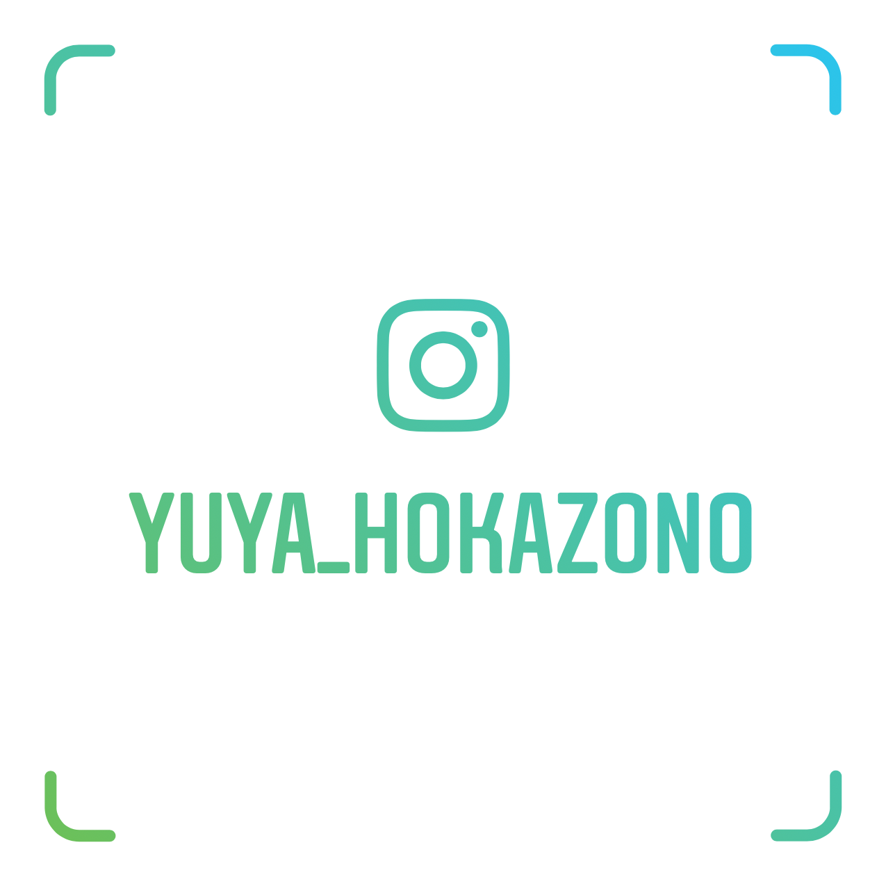 ☆「Yuya Hokazono」の公式Instagramはこちら