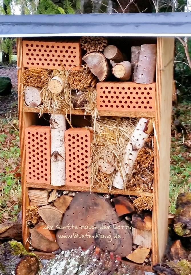 """Detail Klostergarten """"Insektenhaus"""""""
