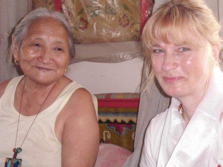 Ani-La Jomo Samp'hel und Mariella