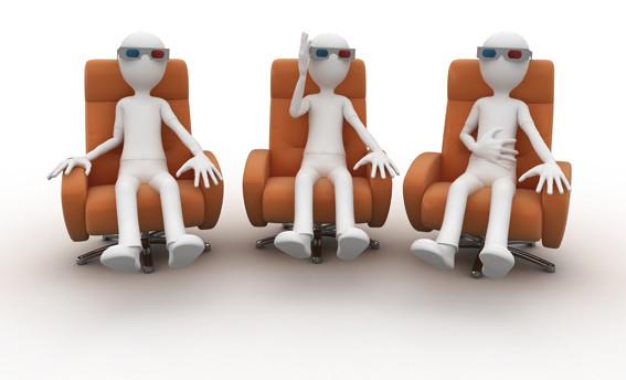 Richtig gut fernsehen, natürlich auch in 3D.