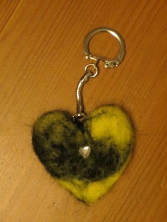 Herzlicher Schlüsselanhänger