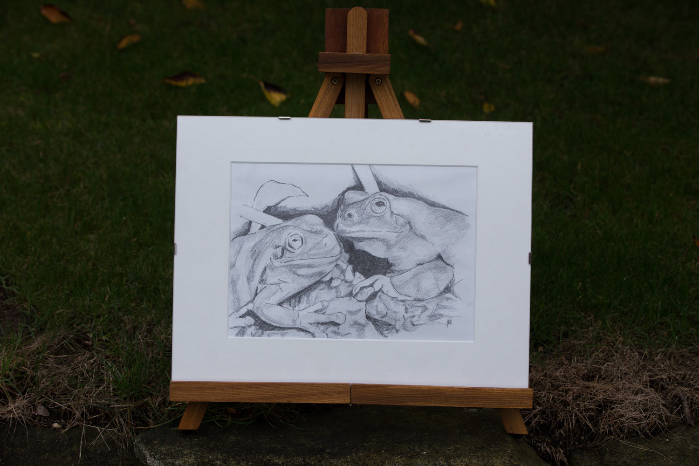 Zeichnung auf Papier