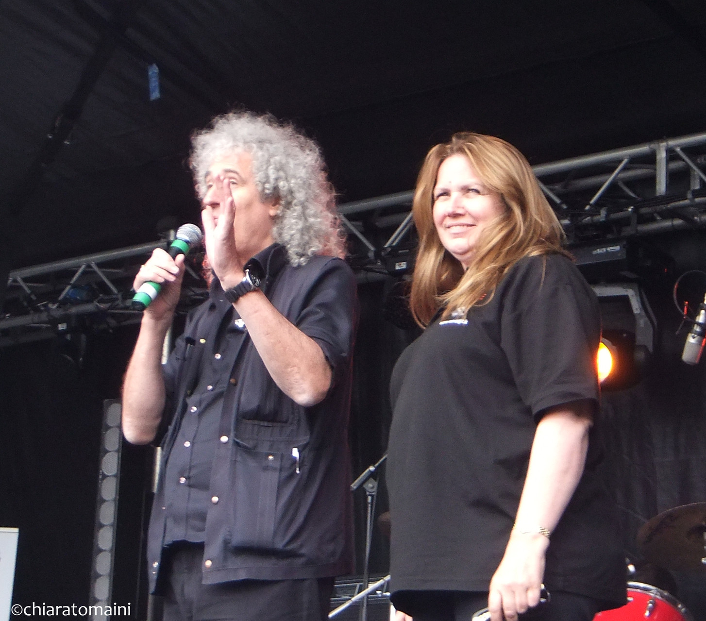 Brian May, Anne Brummer - @ChiaraTomaini