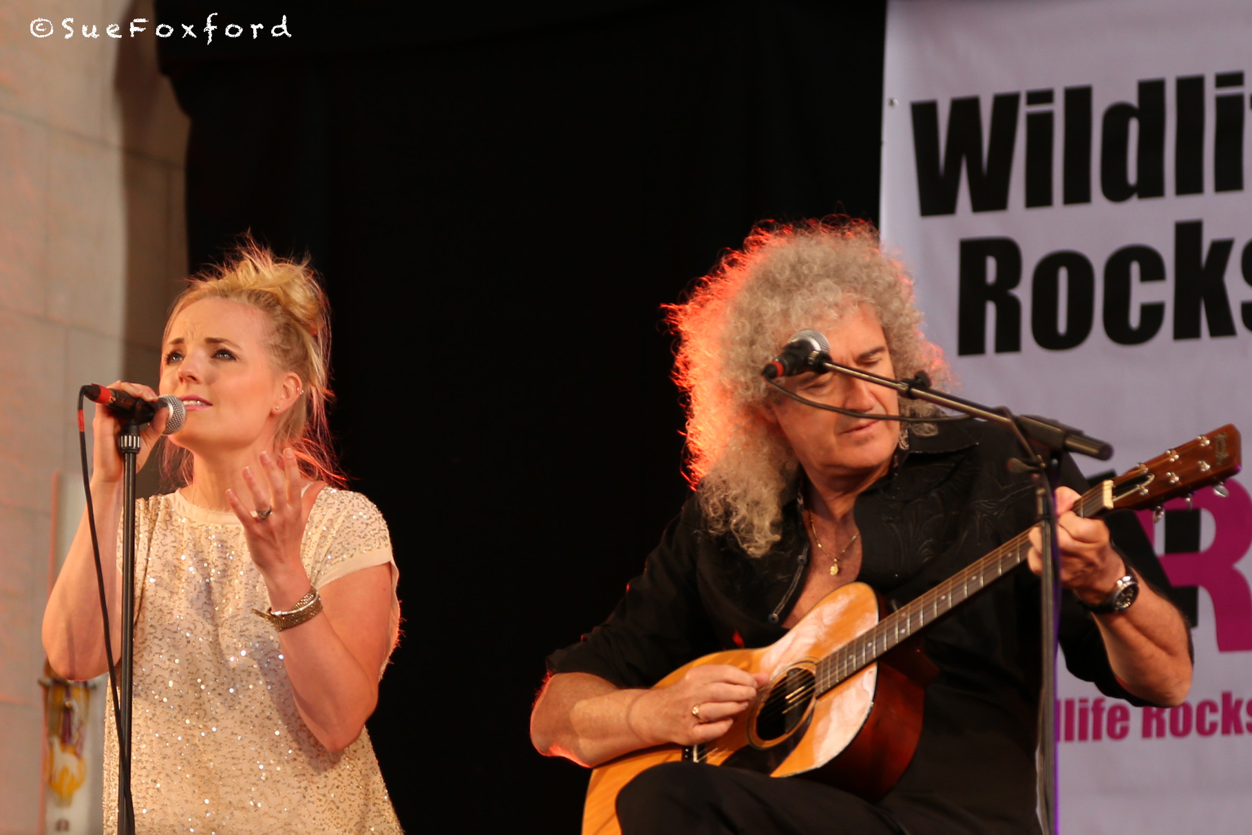 Kerry Ellis, Brian May  - @SueFoxford
