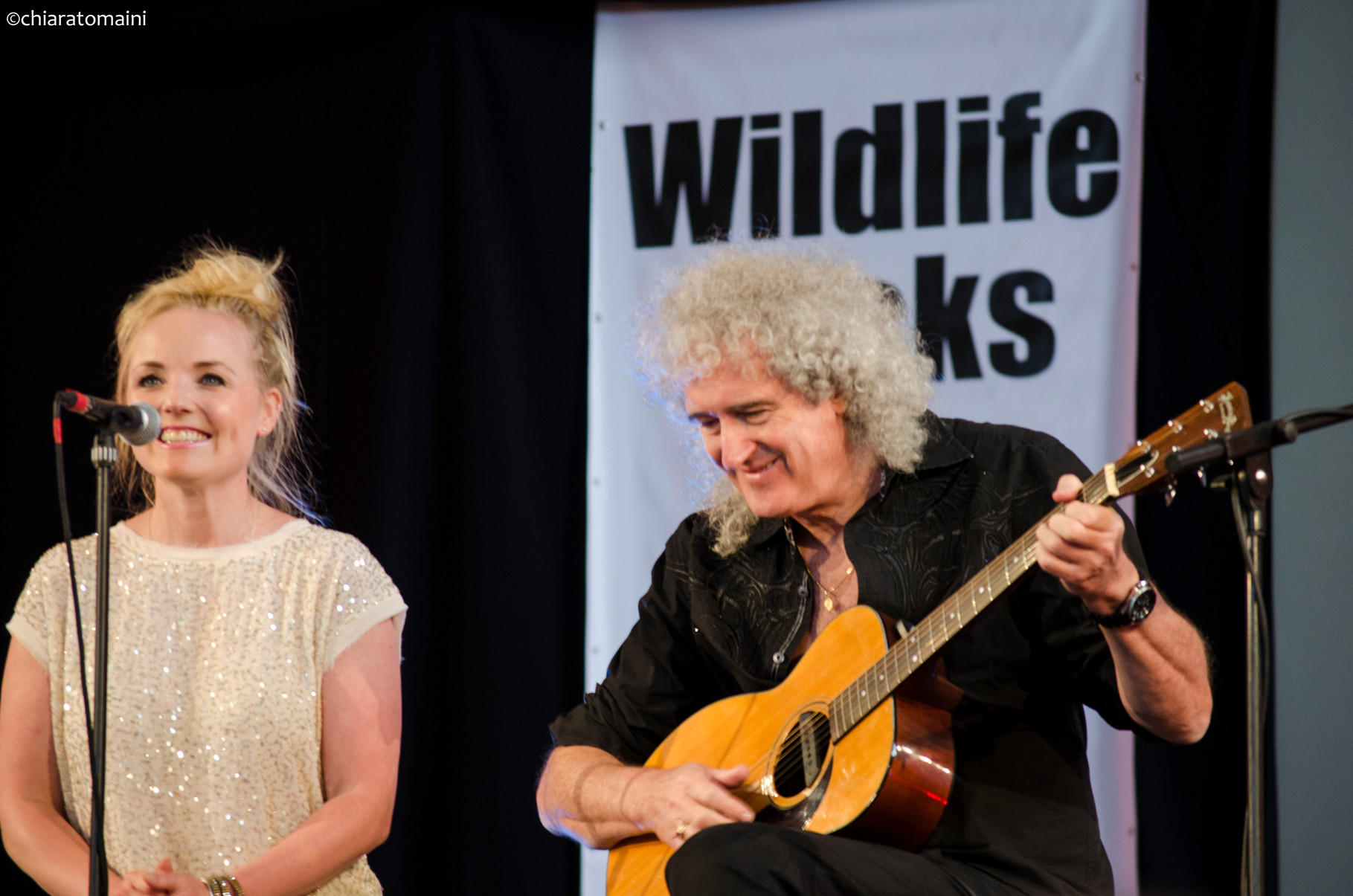 Kerry Ellis, Brian May - @ChiaraTomaini